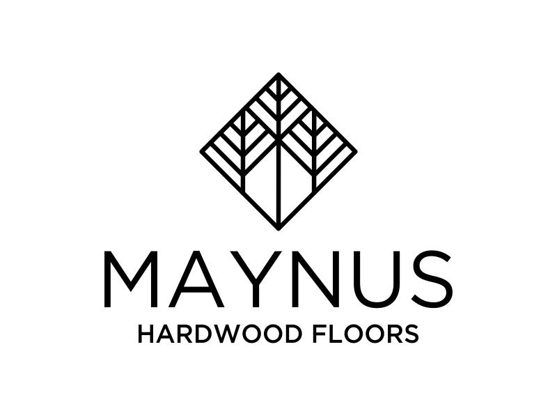 Maynus Hardwood Floors logo design by cikiyunn