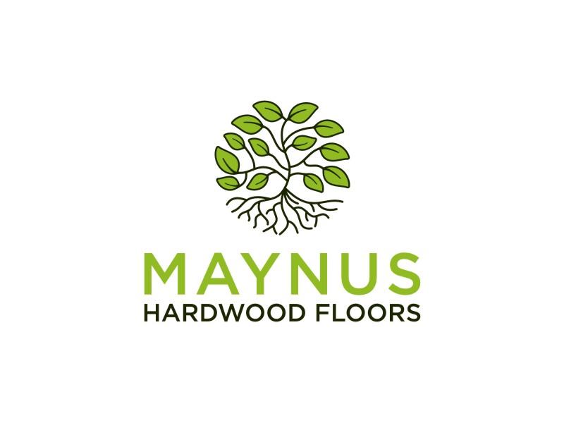 Maynus Hardwood Floors logo design by bombers