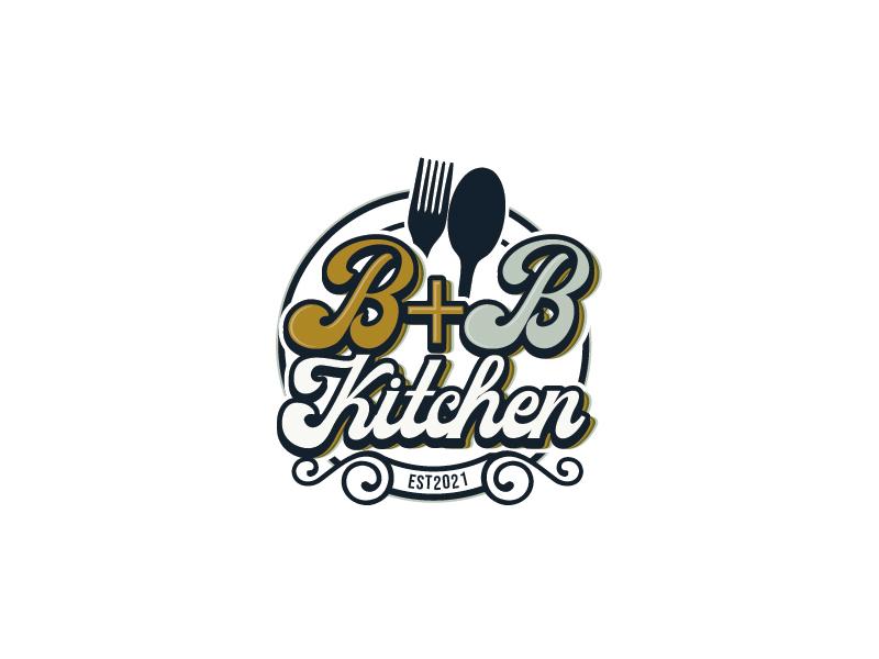 B+B Kitchen logo design by gogo