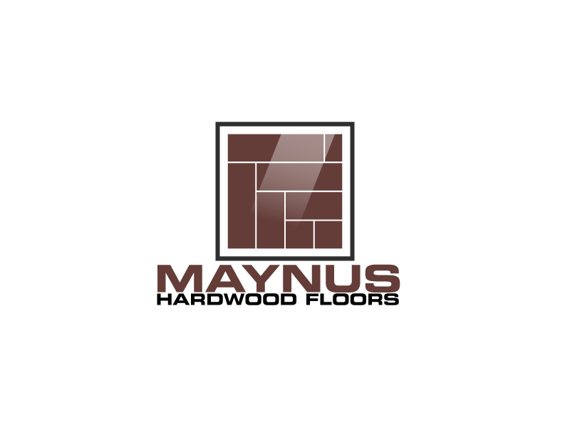 Maynus Hardwood Floors logo design by ElonStark