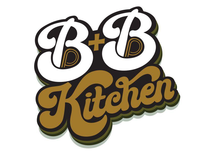 B+B Kitchen logo design by veron