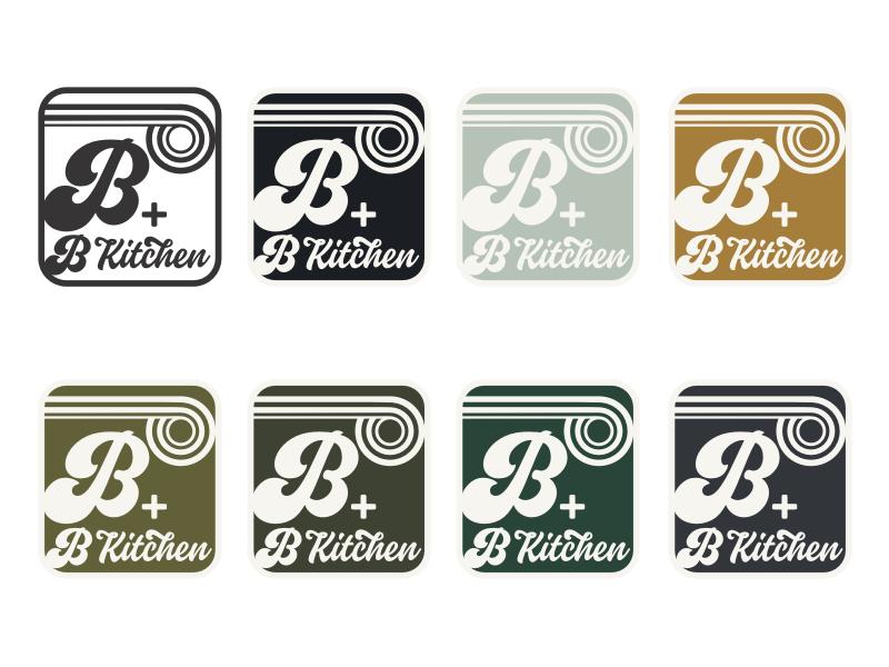 B+B Kitchen logo design by achang