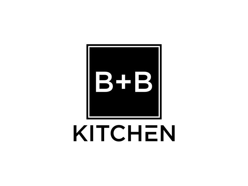 B+B Kitchen logo design by sheila valencia