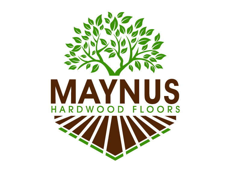 Maynus Hardwood Floors logo design by PMG