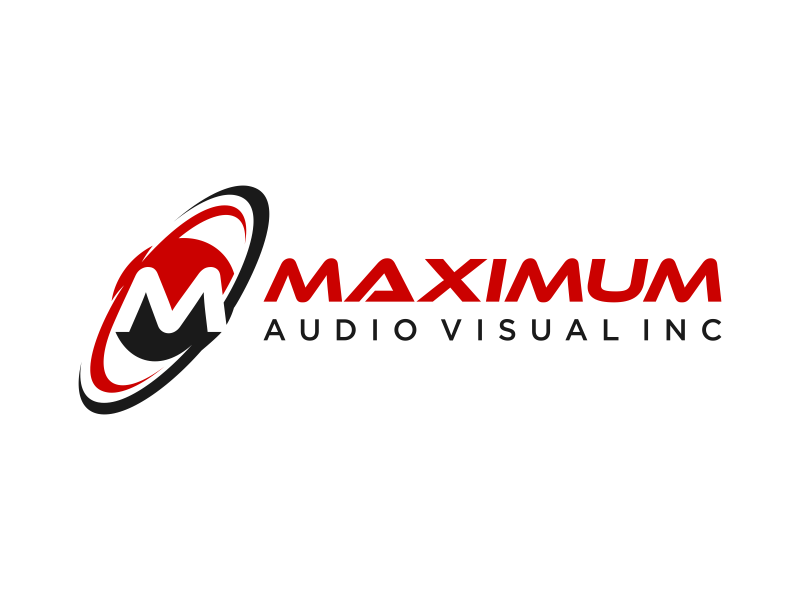 Maximum Audio Visual Inc. Logo Design