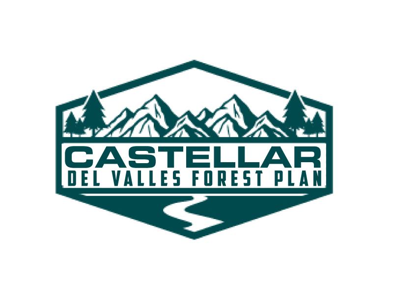 Castellar del VallesForest Plan logo design by ElonStark
