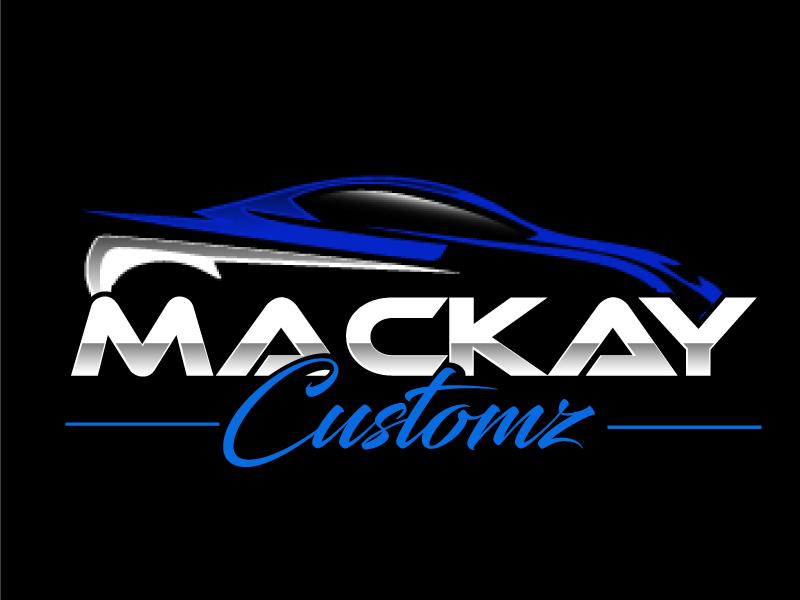 Mackay Customz logo design by ElonStark
