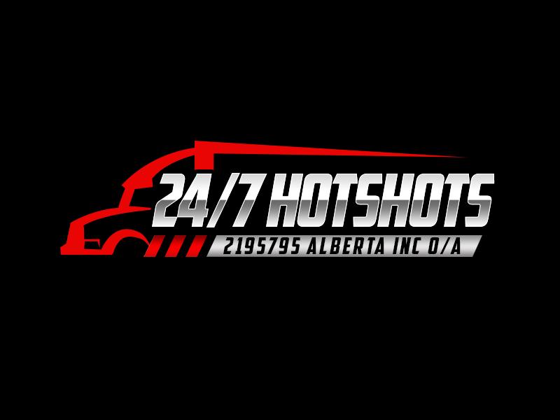 24/7 Hotshots logo design by kunejo