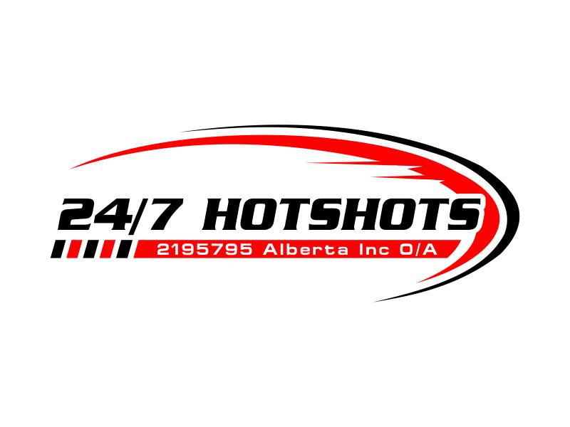 24/7 Hotshots logo design by kopipanas
