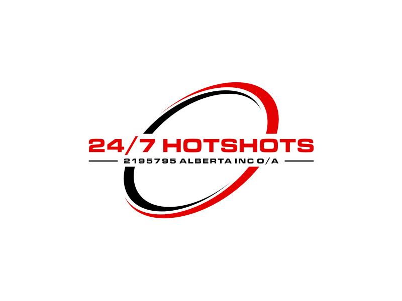 24/7 Hotshots logo design by johana