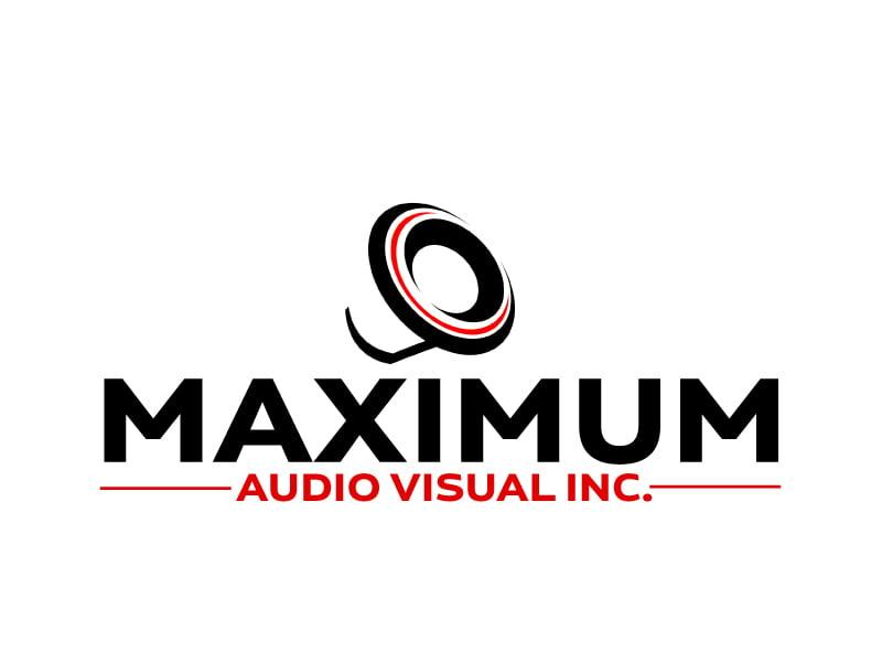 Maximum Audio Visual Inc. logo design by ElonStark