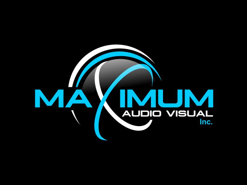 Maximum Audio Visual Inc. logo design by serprimero