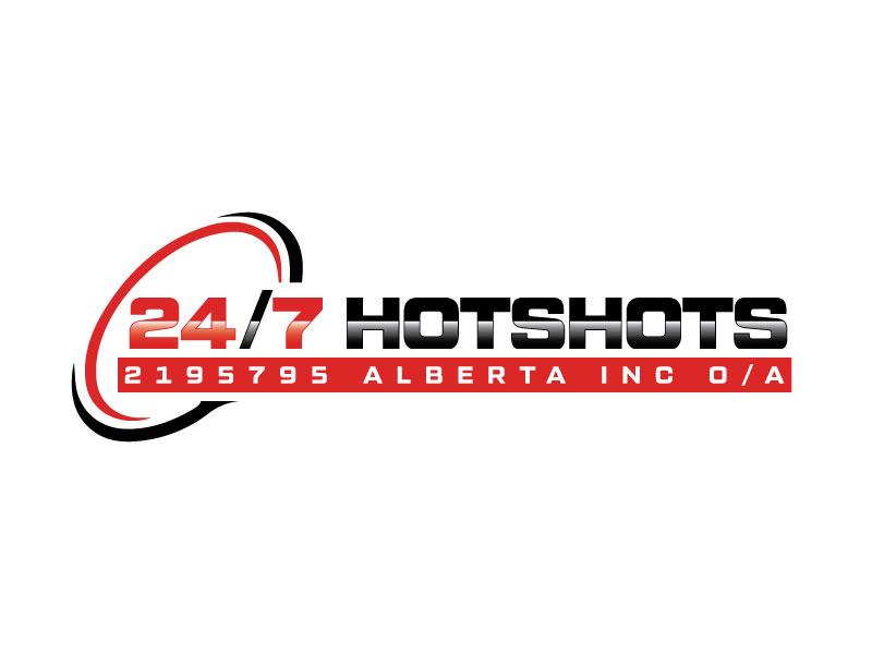 24/7 Hotshots logo design by Erasedink