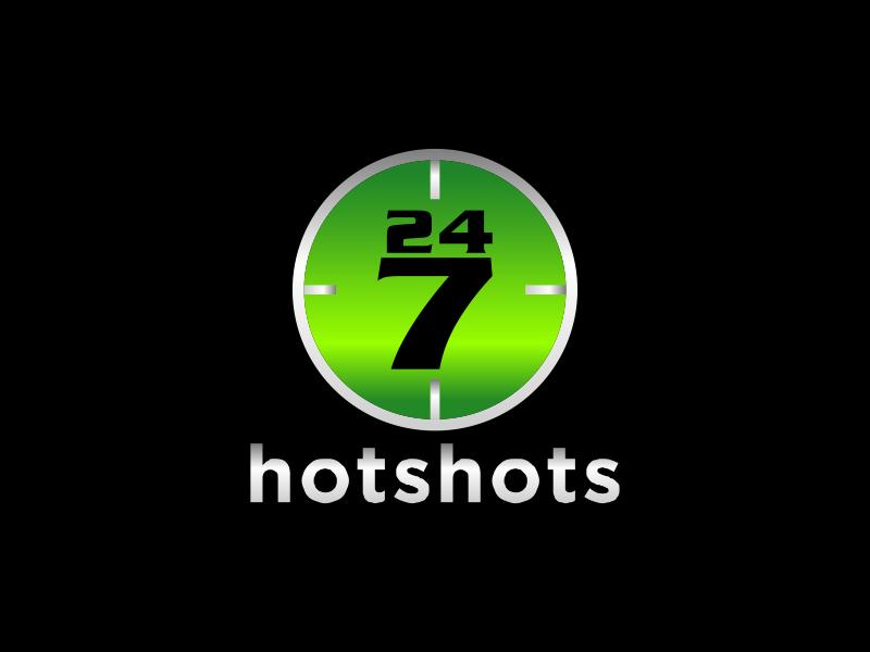 24/7 Hotshots logo design by MUNAROH