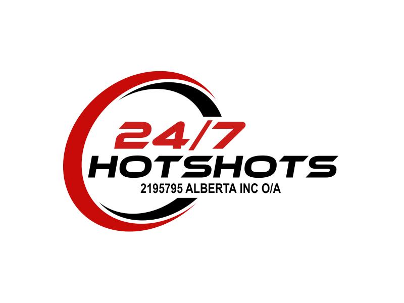 24/7 Hotshots logo design by serprimero