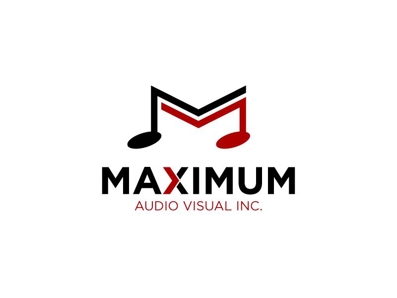Maximum Audio Visual Inc. logo design by torresace