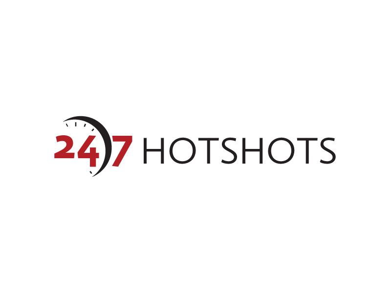 24/7 Hotshots logo design by sigorip
