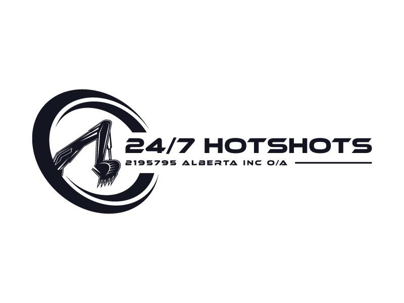24/7 Hotshots logo design by aryamaity