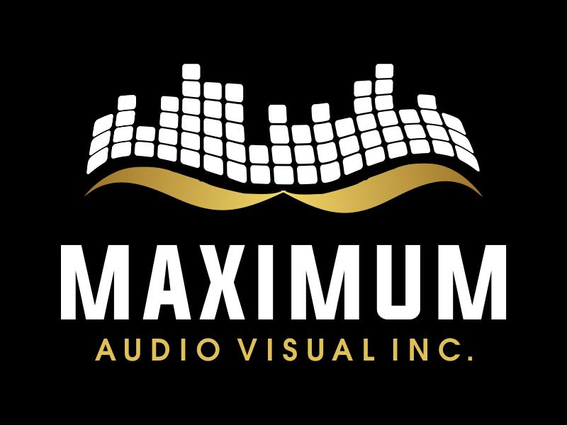 Maximum Audio Visual Inc. logo design by JessicaLopes