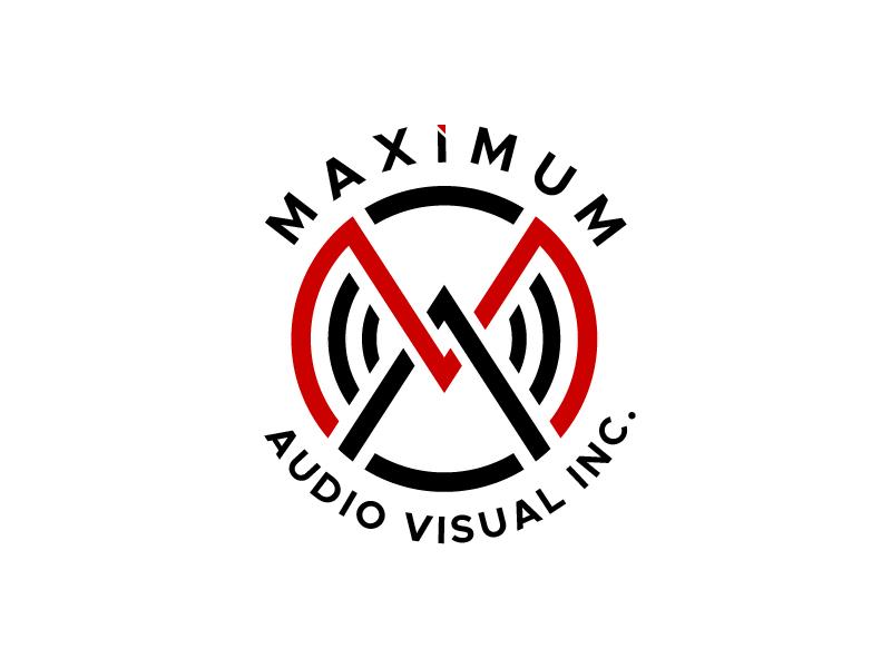 Maximum Audio Visual Inc. logo design by usef44