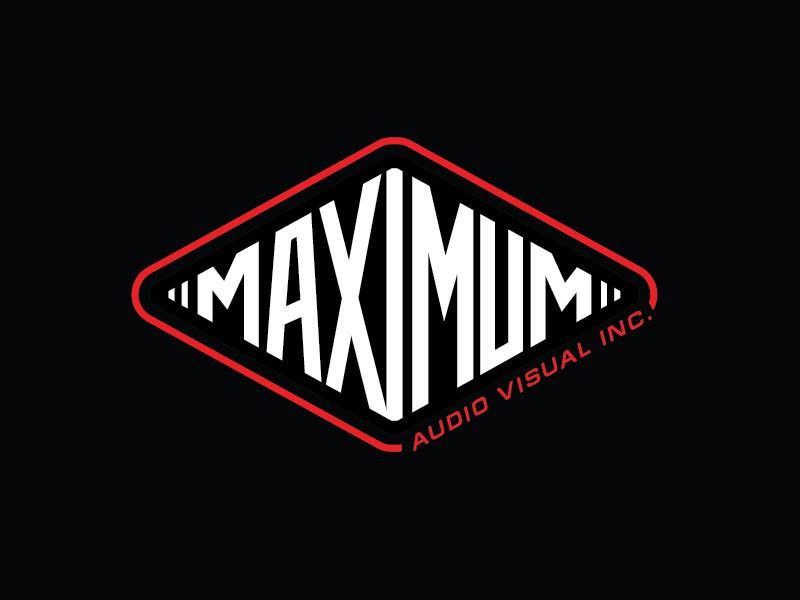 Maximum Audio Visual Inc. logo design by il-in