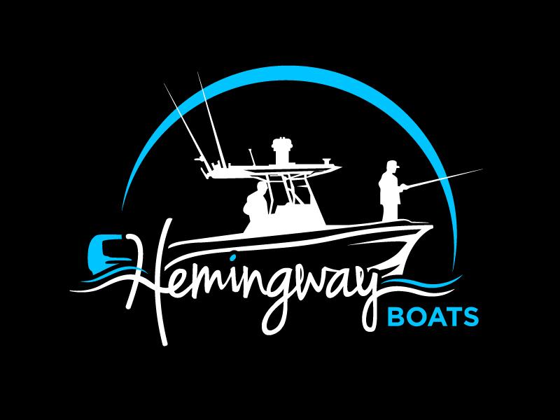 Hemingway Boats logo design by aRBy