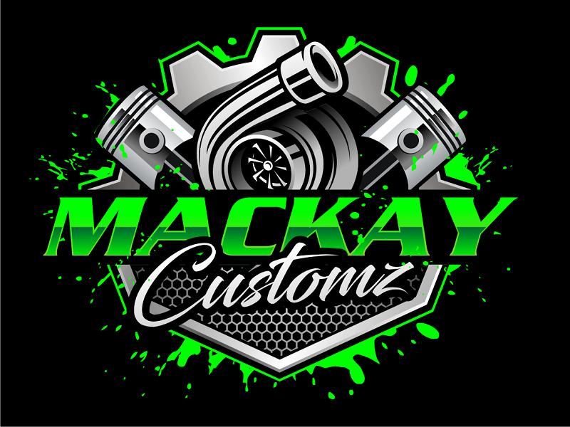 Mackay Customz logo design by haze