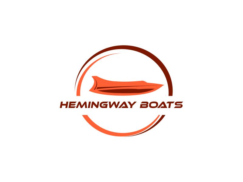 Hemingway Boats logo design by Greenlight