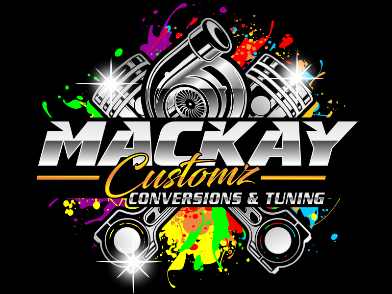 Mackay Customz logo design by hidro