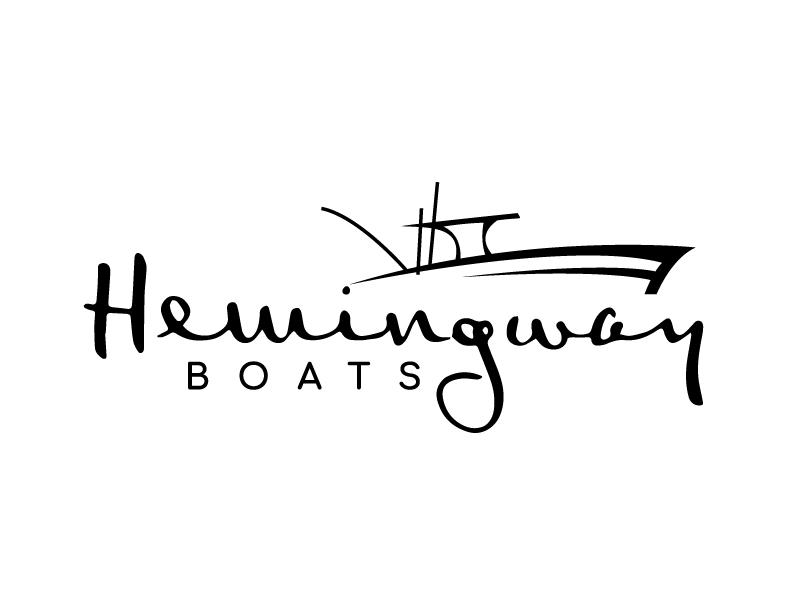 Hemingway Boats logo design by jaize