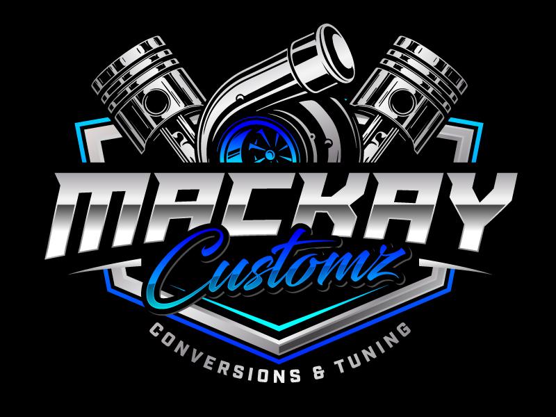 Mackay Customz logo design by jaize
