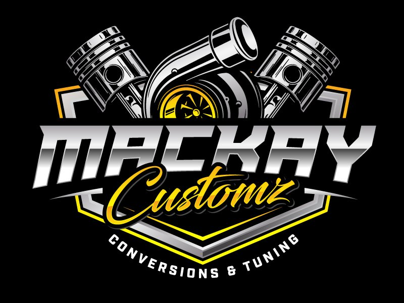 Mackay Customz Logo Design