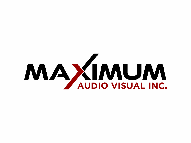 Maximum Audio Visual Inc. logo design by agus