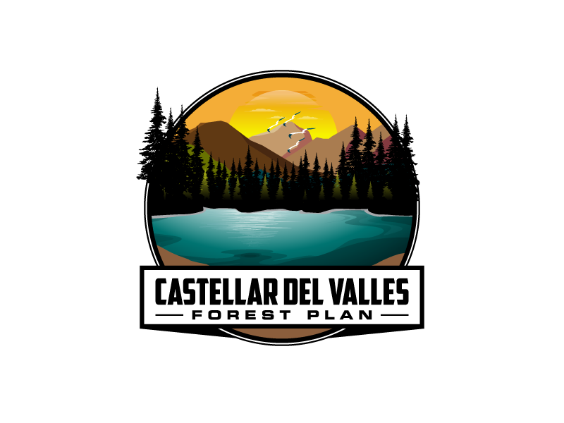 Castellar del VallesForest Plan logo design by torresace