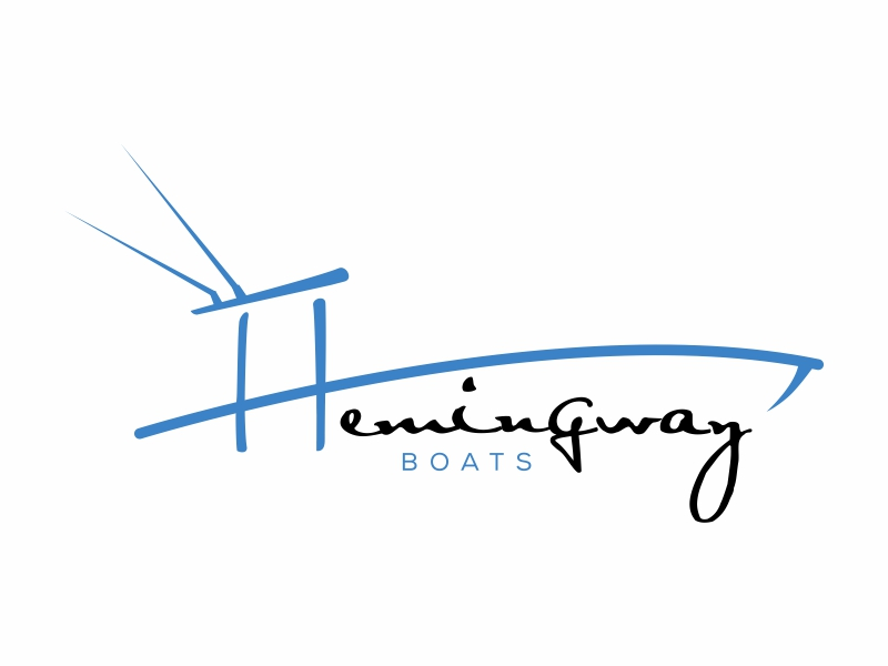 Hemingway Boats logo design by qqdesigns