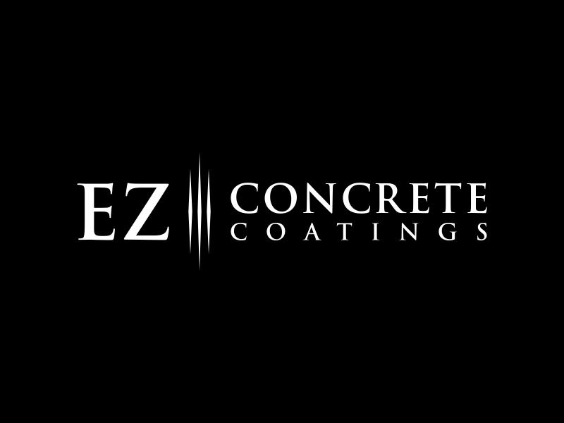 EZ Concrete Coatings logo design by BlessedArt