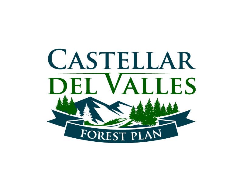 Castellar del VallesForest Plan logo design by aRBy