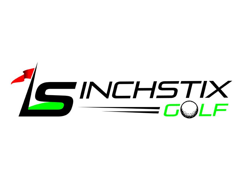 Inchstix Golf logo design by MAXR