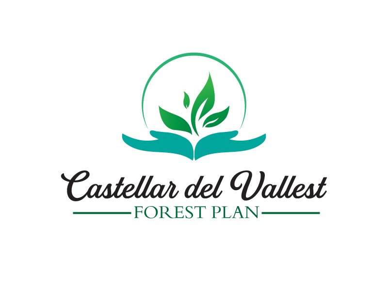 Castellar del VallesForest Plan logo design by xien