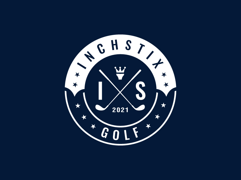 Inchstix Golf logo design by sanworks