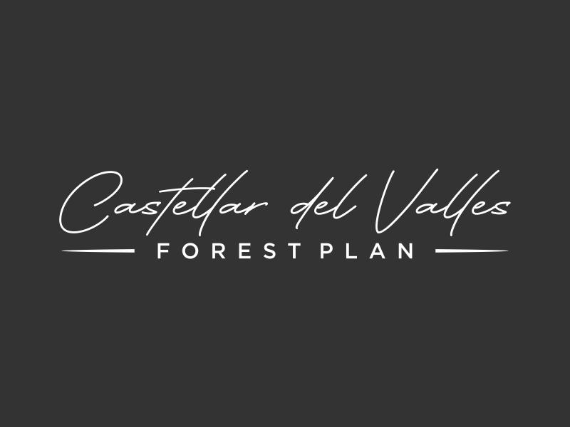 Castellar del VallesForest Plan logo design by ozenkgraphic