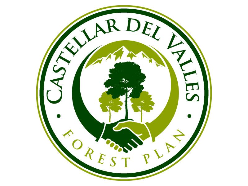 Castellar del VallesForest Plan logo design by jaize