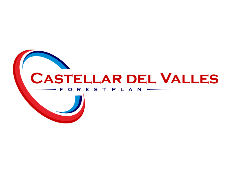 Castellar del VallesForest Plan logo design by Greenlight