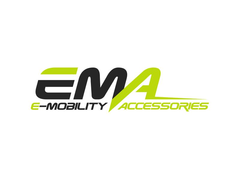 EMA (E-Mobility Accessories) logo design by sergi
