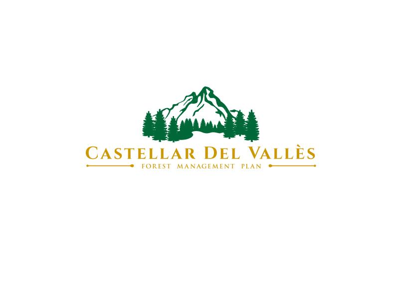 Castellar del VallesForest Plan logo design by emberdezign