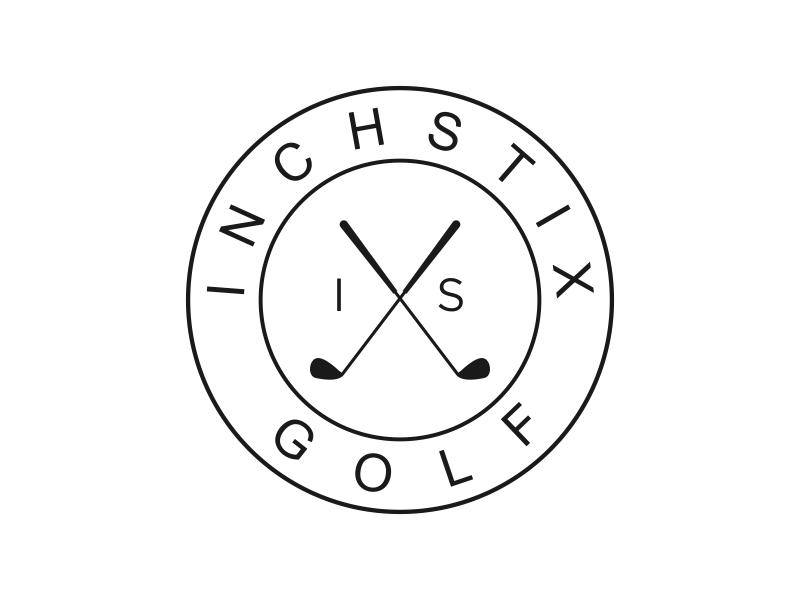 Inchstix Golf logo design by lintinganarto