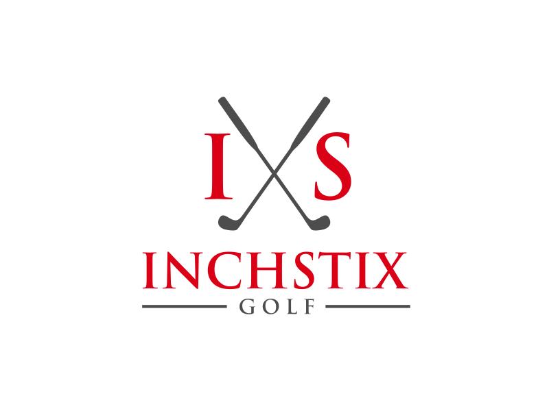 Inchstix Golf logo design by GassPoll