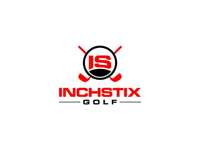 Inchstix Golf logo design by rian38