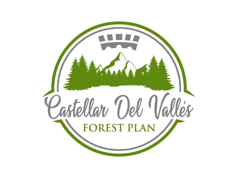 Castellar del VallesForest Plan logo design by nona