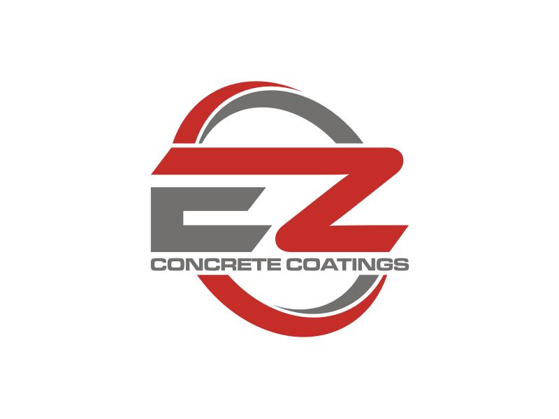 EZ Concrete Coatings logo design by rief
